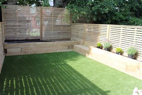 Garden Ideas With Sleepers Railway Sleepers Garden Ideas Search Landscaping Pinterest Raised Bed Railway