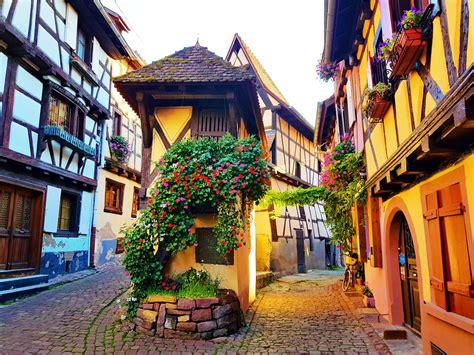 eguisheim  gingerbread village places  visit