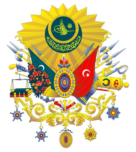 Ottoman Coat Of Arms National Symbols Of Turkey
