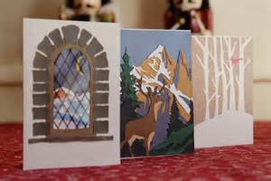 paper craft christmas cards the sage owl
