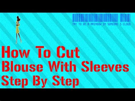 Step By Step On How To Cut A Pixie Haircut | how to cut blouse with sleeve step by step youtube