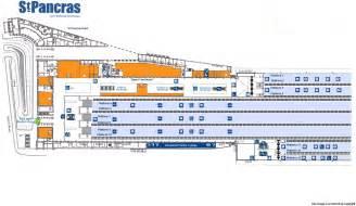 St Pancras Floor Plan National Rail Enquiries