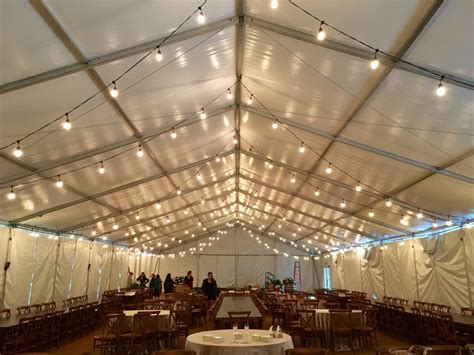 String Lighting Dpc Event Services Tent String Lights