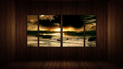 Where To Start Wallpapering In A Room by Living Room View By Paullus23 On Deviantart