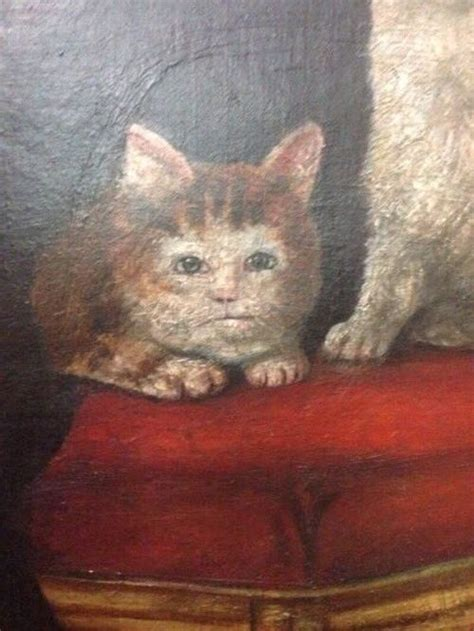 Ladder by Medieval Cat Paintings That Will You Up Art