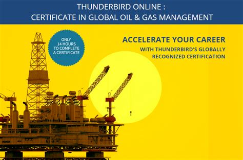 Executive Mba In And Gas by Thunderbird Gas Certificate Program 2015 Mad Incubator