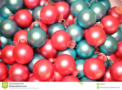 christmas ornaments pink blue stock photo image 5068378