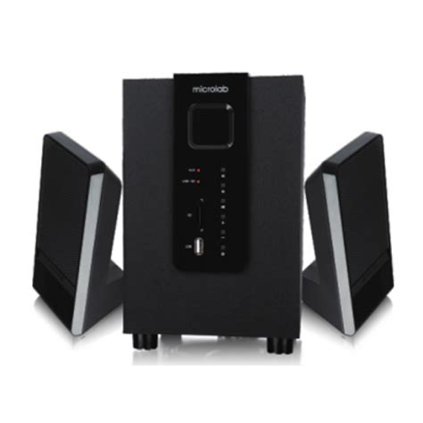Microlabs 51 Acoustic System For 100 by Microlab M100u Gaming Speaker Hypermart