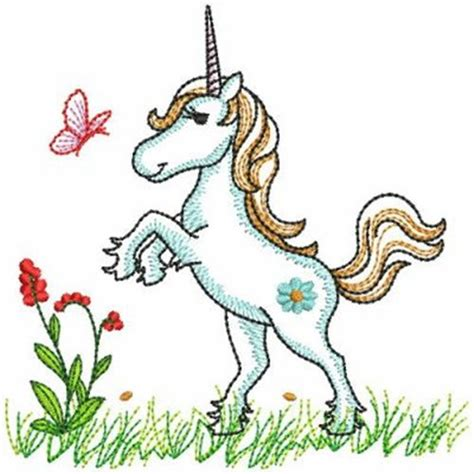 embroidery design unicorn rearing unicorn embroidery designs machine embroidery