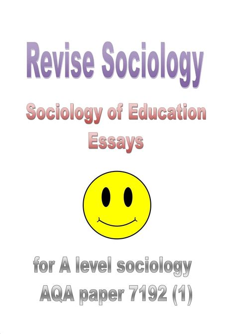 A Level Sociology Essays by How To Write A Level Sociology Essays Revise Sociology