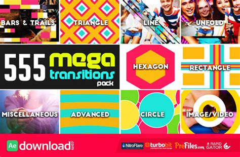 after effects free transition templates transitions 555 videohive project free download free