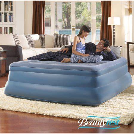 simmons beautyrest sky rise raised pillowtop air bed mattress with walmart