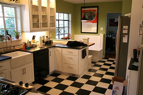 black and white tile kitchen ideas black and white kitchen floor ideas info home and