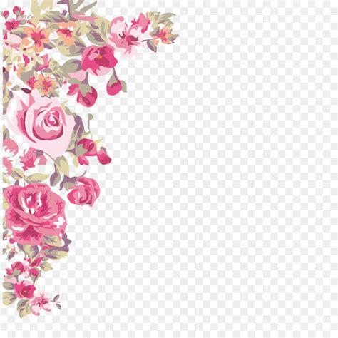 Painted Flower flower wallpaper painted flowers corner png