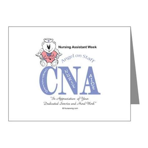 Thank You Letter For Cna Nursing Assistant Week Note Cards Pk Of 10 Aos The O Jays Note And Note Cards
