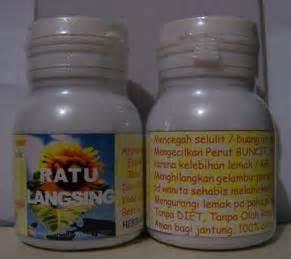 Kapsul Herbal Ratu Langsing 60 Kapsul Untuk Mengurangi Lemak Tubuh tersedia aneka obat herbal madu obat kuat siwak dll