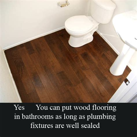 laminate wood flooring for bathrooms hardwood floor in bathroom for the home