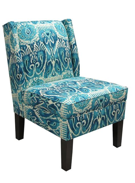 blue pattern recliner furniture agreeable living room decoration ideas using