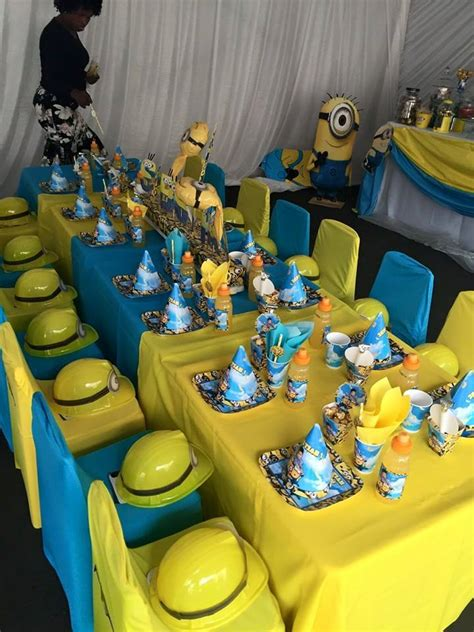 How To Make Baby Shower Decorations At Home by One In A Minion 1st Birthday Party Supplies