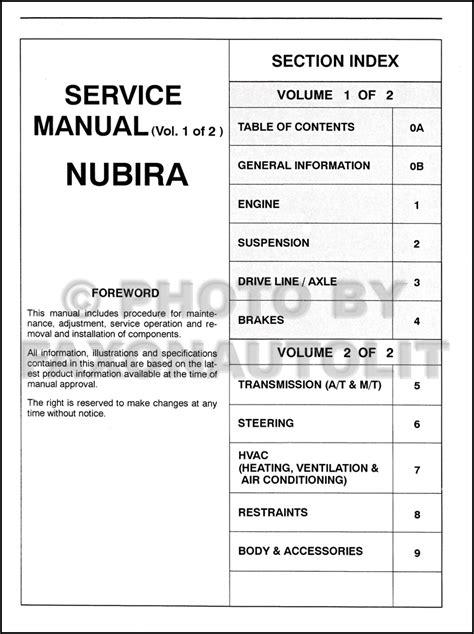free service manuals online 1999 daewoo leganza regenerative braking service manual 2001 daewoo nubira free repair manual service manual 1999 daewoo nubira