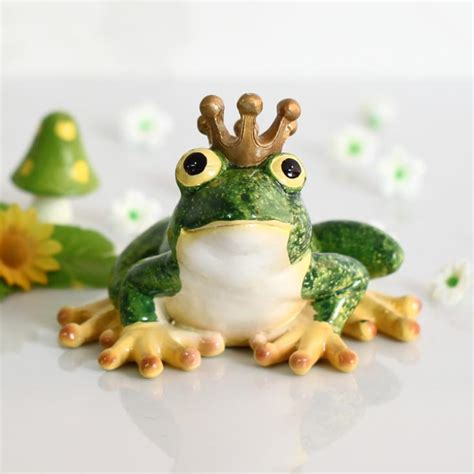 Decorative Frogs by Tale The Frog Prince Lovely Resin Frog Resin Frog