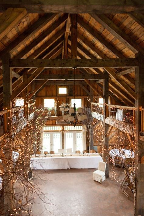 barn decorating ideas 30 romantic indoor barn wedding decor ideas with lights