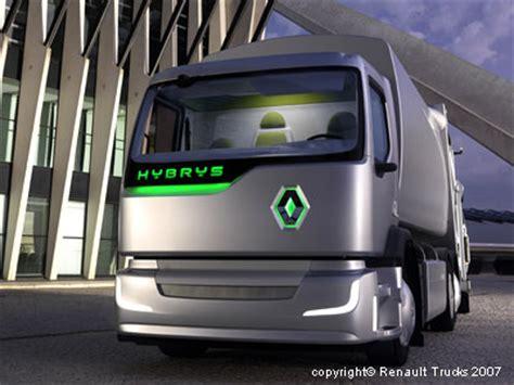 renault trucks's hybrys, an urban, hybrid refuse collector