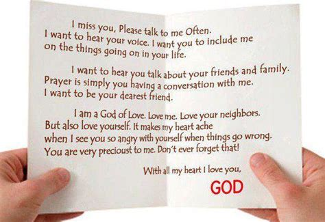 Letter Of God Gods Letter