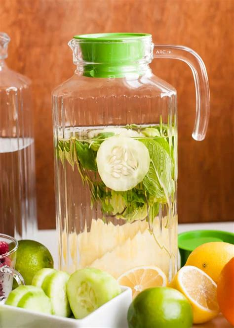 Infuse Water Jug how to make infused water tips for your own