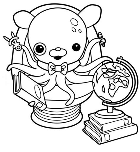 dashi dog coloring page octonauts coloring pages bestofcoloring com