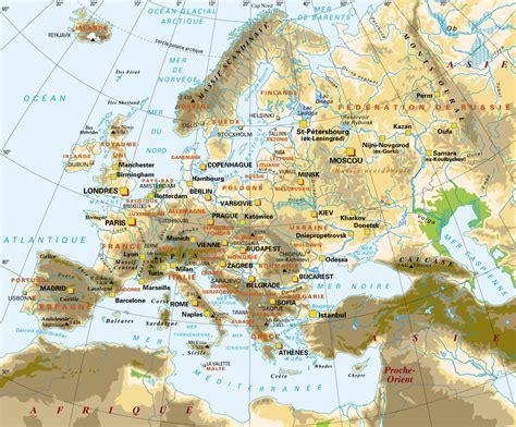 map de l europe cartograf fr carte de l europe carte avec les sommets
