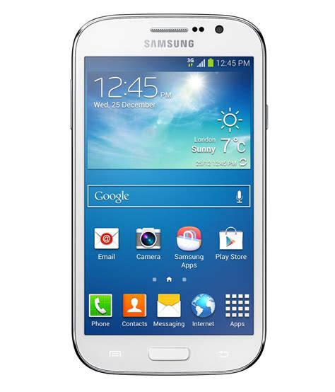 samsung mobile gt samsung galaxy grand neo gt i9060 8gb white mobile phones