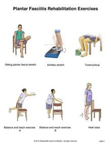 Planter Fasciitis Exercises by 67 Best Physio Images On Physical Therapy