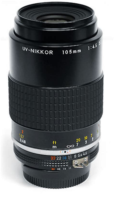 uv nikkor 105mm f/4.0 lens by terry's camera