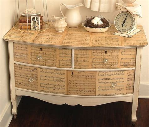 Decoupage Dressers - decoupage dresser decoupaged furniture