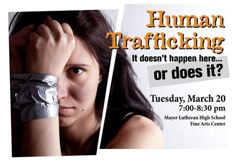 eu links charities to human traffickers the daily beast human trafficking awareness event mayer lutheran