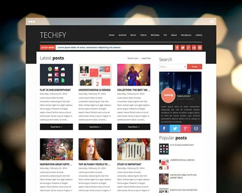 blogger templates for reviews top 10 stunning responsive website templates