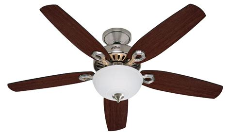 Builder Ceiling Fans builder deluxe 2013 ceiling fan 21809 in brushed nickel guaranteed lowest price
