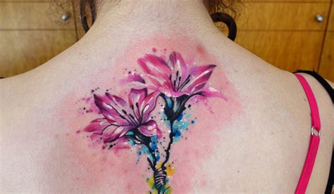 flores tattoo designs flores en acuarelas by javi wolf tatoo and tattos