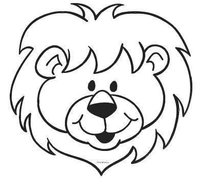 lion black and white lion clip art black and white free