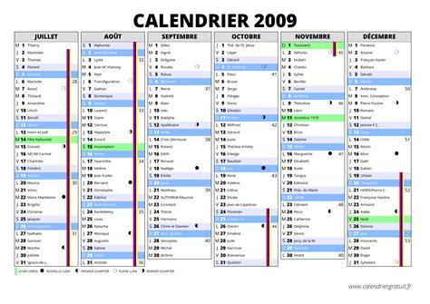 Calendrier Annee 2009 Calendrier 2009