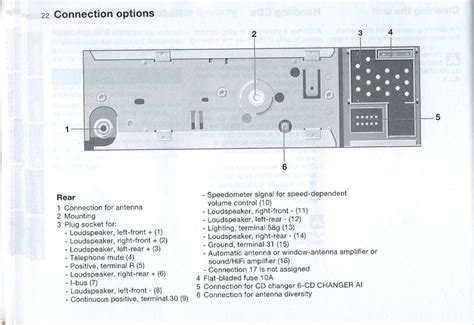 cd43 pinout wiring diagram