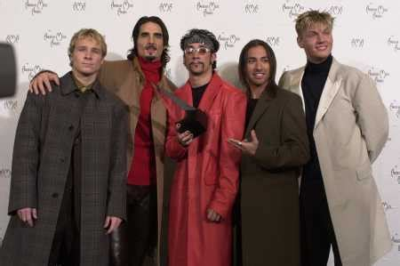 backstreet boys new cats antes que a noite acabe pictures at american awards