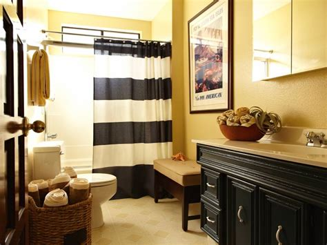black and yellow bathroom ideas 18 bathroom curtain designs decorating ideas design