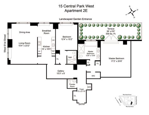 15 central park west new york floor plans thefloors co 15 central park west apt 2e new york ny 10023 sotheby