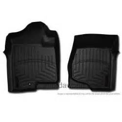 weathertech digital fit black front floor mats liners for