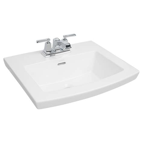 Rona Kitchen Sink Drop In Lavatory Cavallie 22 Quot X 18 Quot White Rona