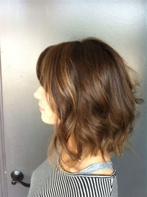 ear length bob wavy 22 best images about our favorite shoulder lenght hair