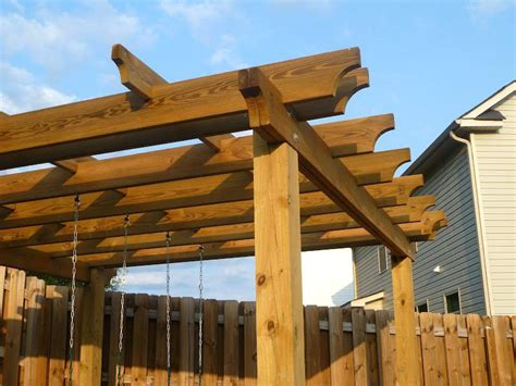 pergola rafter tails marvelous pergola end cuts rafter