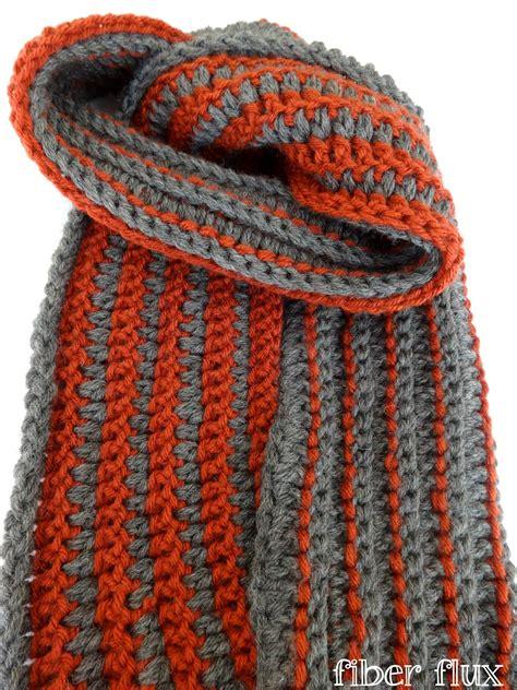 jennifer s scarf free crochet pattern from red heart yarns fiber flux free crochet pattern the every man scarf